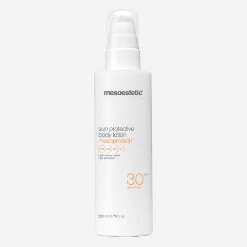 mesoprotech sun protective body lotion 30+