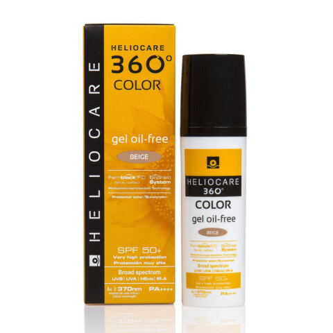 Heliocare 360° Color gel oil-free SPF 50+ (Beige, Bronze)